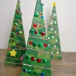 3-D Pyramid Christmas Tree Craft