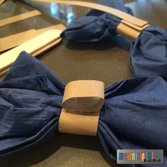 how-to-make-bow-tie-napkin-holders