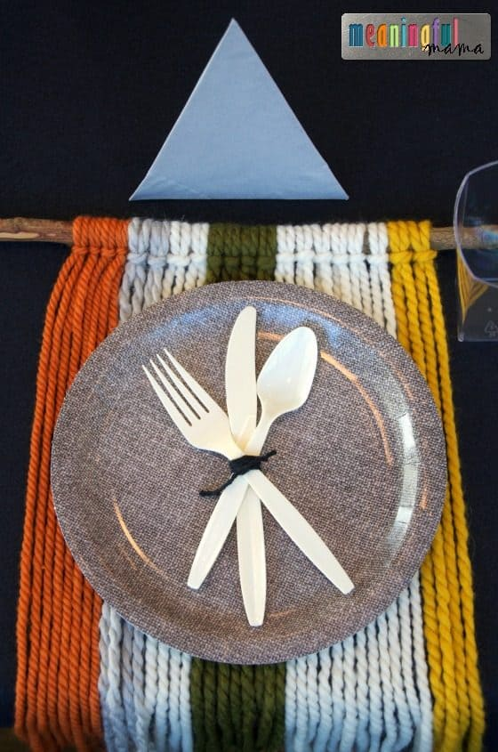table-setting-for-mountain-or-tribal-theme-party-nov-6-2016-2-01-pm