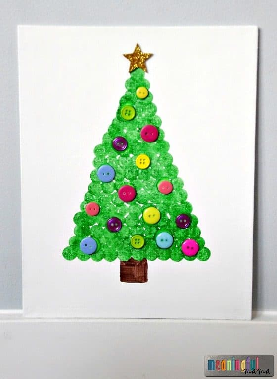 christmas-tree-dot-art-craft-on-canvas-nov-23-2016-3-54-pm