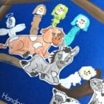 Handprint Nativity Craft
