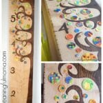 DIY Wooden Tree Growth Chart