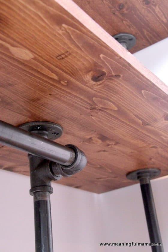 DIY Industrial Pipe Walk-In Closet
