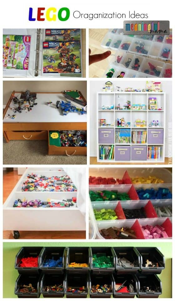 Whatever The Case, I Have Collected Storage Ideas From Around The Web.  Also, My Own Facebook Audience Provided Their LEGO Organization Solutions.
