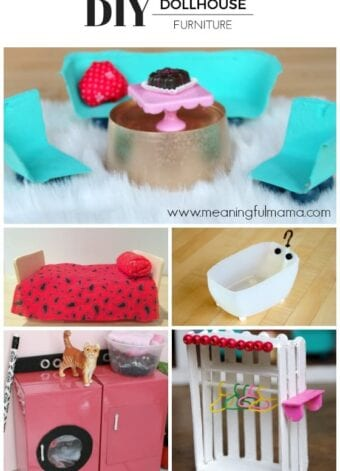 Best DIY Dollhouse Furniture