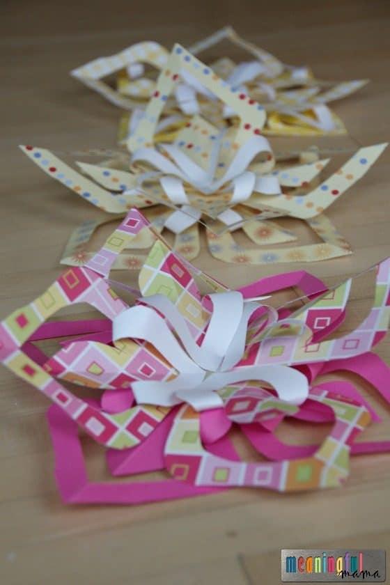 Kirigami Paper Flower Tutorial