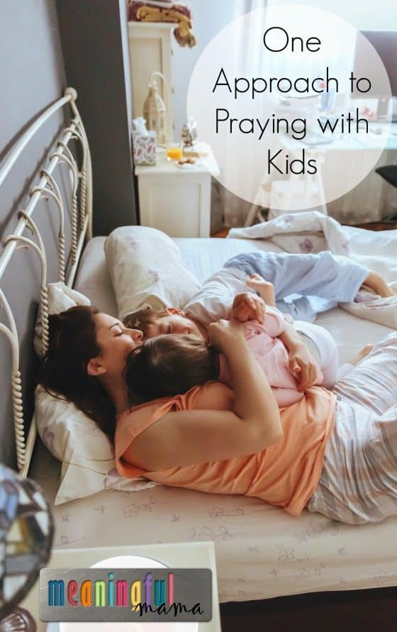 One Approach to Praying with Kids