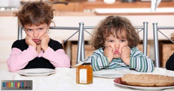 grumpy kids and parenting