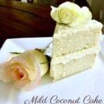Mild Coconut Cake