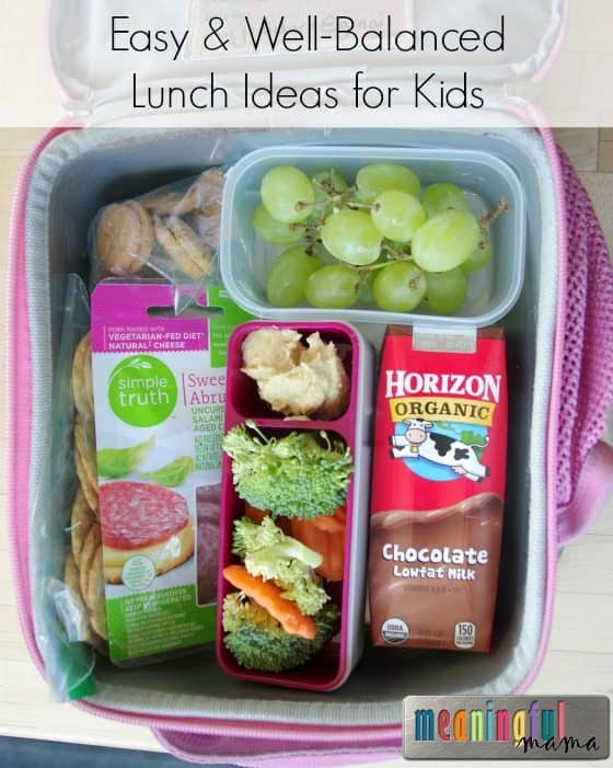 Well-Balanced Lunch Boxes Made Easy