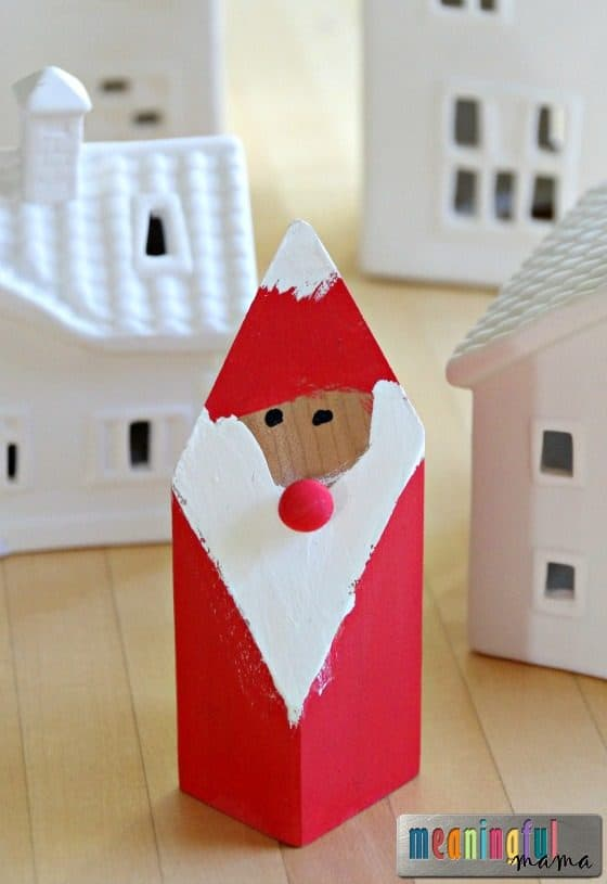 if you are looking for other crafts that might be fun to do with kids in the classroom you might want to check out this cute reindeer hat or this snowman - Santa Claus Craft