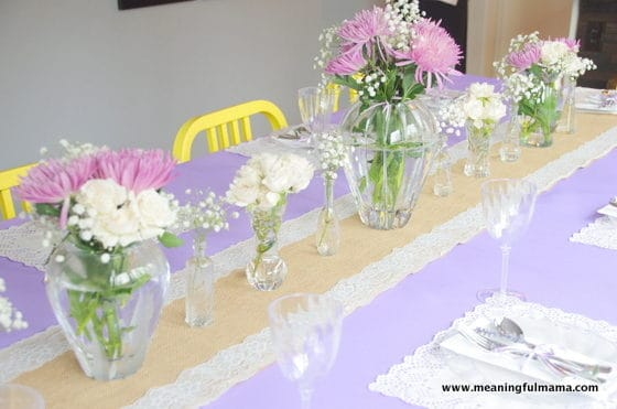 French Country Lavender and Lace Baby Shower