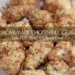 Low FODMAP Baked or Air Fried Chicken Nuggets
