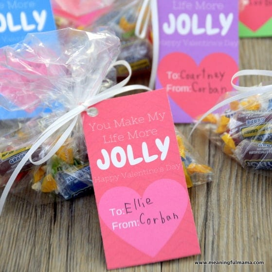 Jolly Rancher Valentine Printable