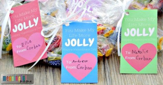 Jolly Rancher Valentine Printable
