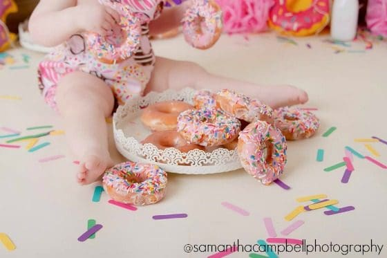 First Birthday Donut Party