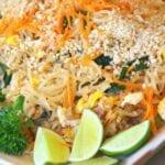 Pad Thai Recipe with Chicken or Shrimp