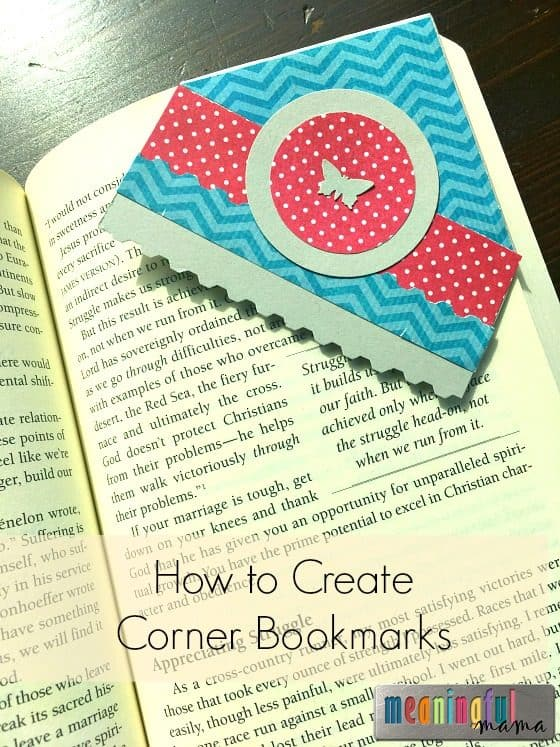 How to Make Corner Bookmarks