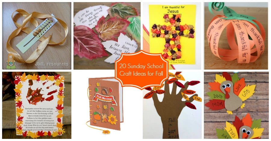 20 Sunday School Craft Ideas For Fall