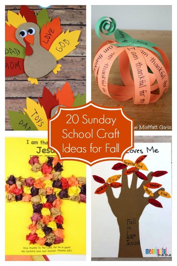 20 Sunday School Craft Ideas For Fall