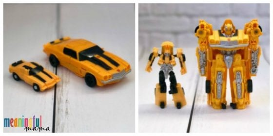 Bumblebee Transformer Toy Review