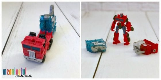 Bumblebee Optimus Prime Transformer Toy Review