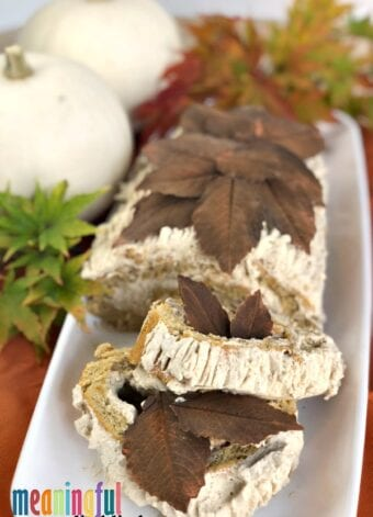 Beautiful Pumpkin Spice Rolled Yule Log Cake for the Fall