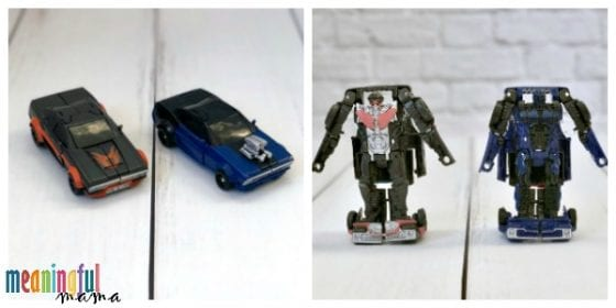 Bumblebee Transformer Toy Review for Hot Rod and Dropkick