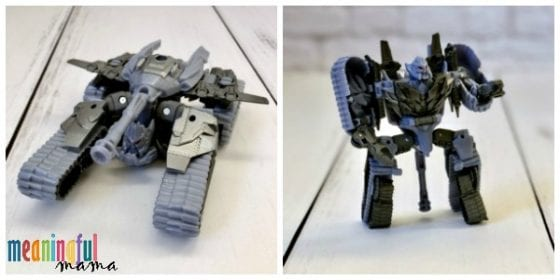 Bumblebee Transformer Megatron Toy Review