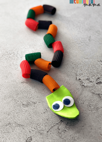 Adam and Eve Snake Craft for Sunday School