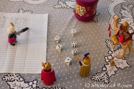 wandering wise men play Farkle