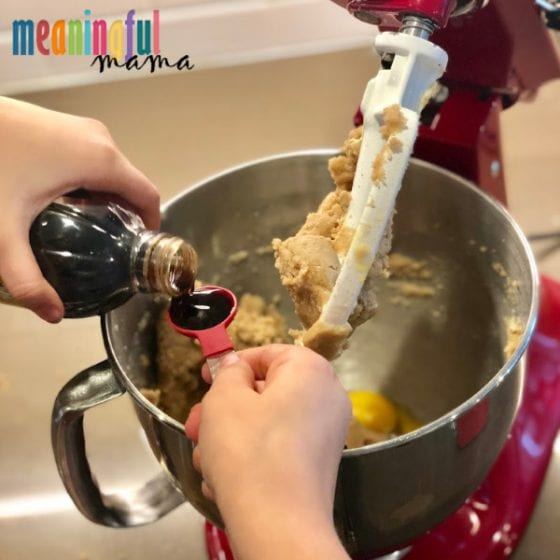 adding vanilla to red velvet snickerdoodle cookie recipe