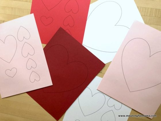 Free Heart Printable Sheet