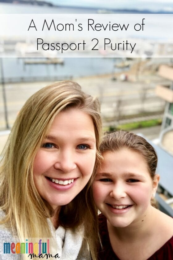 Mom and Daughter on Passport 2 Purity Weekend Review