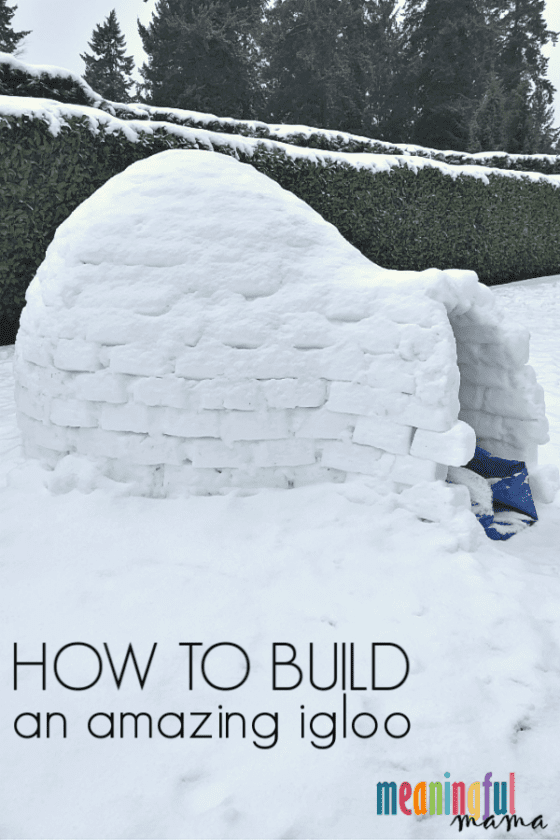 How to Big an Igloo
