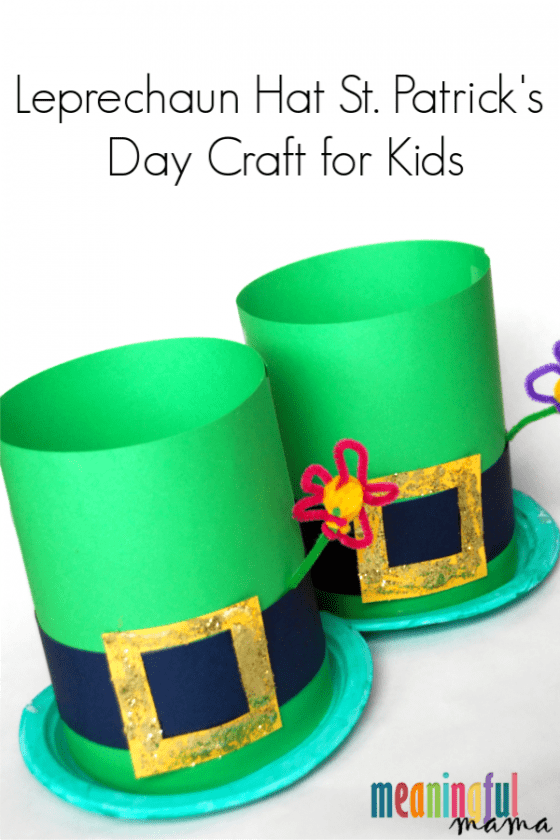 Leprechaun hat St. Patrick's Day craft