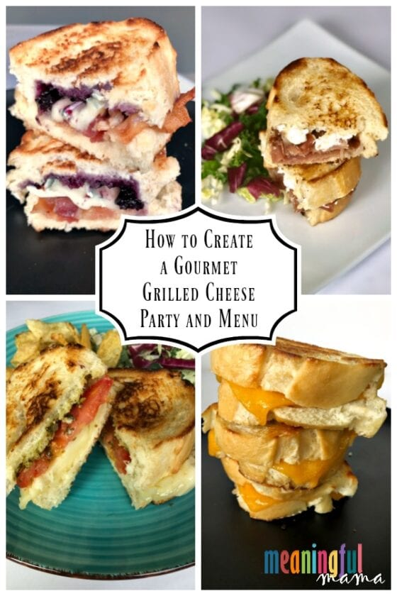 How to Create a Gourmet Grilled Cheese Party and Menu
