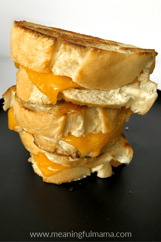 Classic Grilled Cheddar Cheese