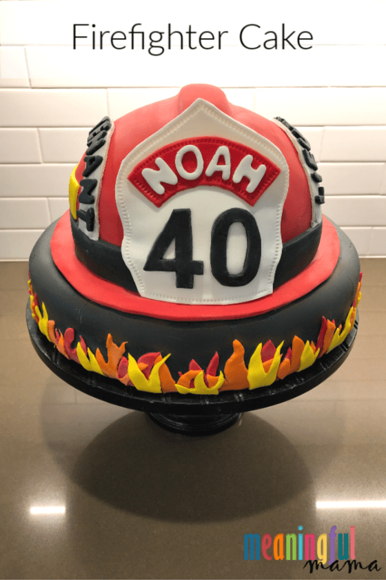Firefighter Cake Idea