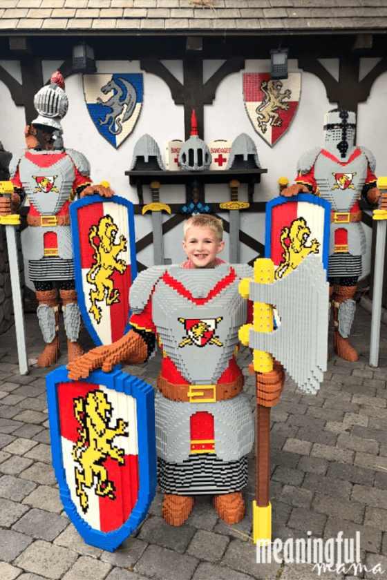 Castle Hill Knights Legoland