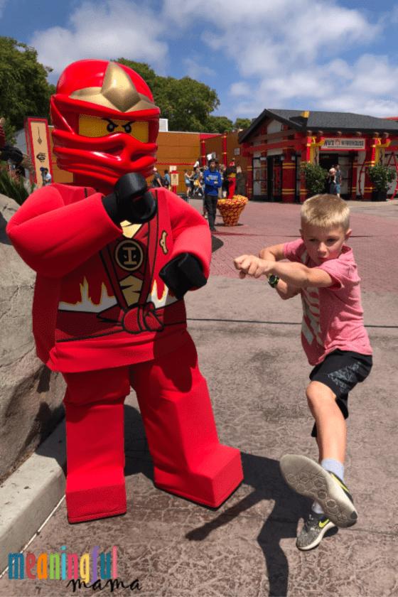 Legoland Ninjago Character Meet