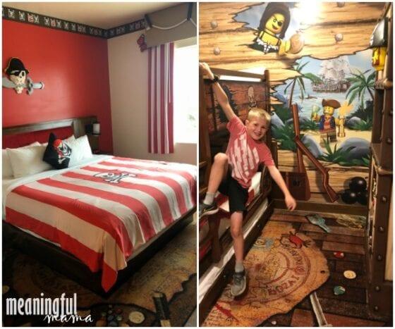 legoland california pirate room review