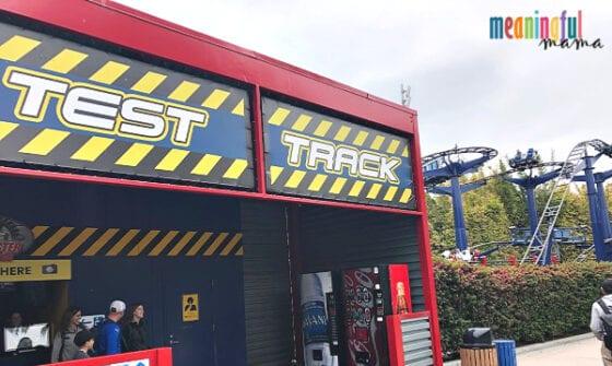 Legoland Technic Coaster Test Track