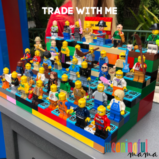 Trade with Me Minifigures at Legoland