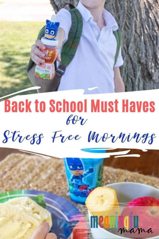 Back to School Must Haves for Stress Free Mornings