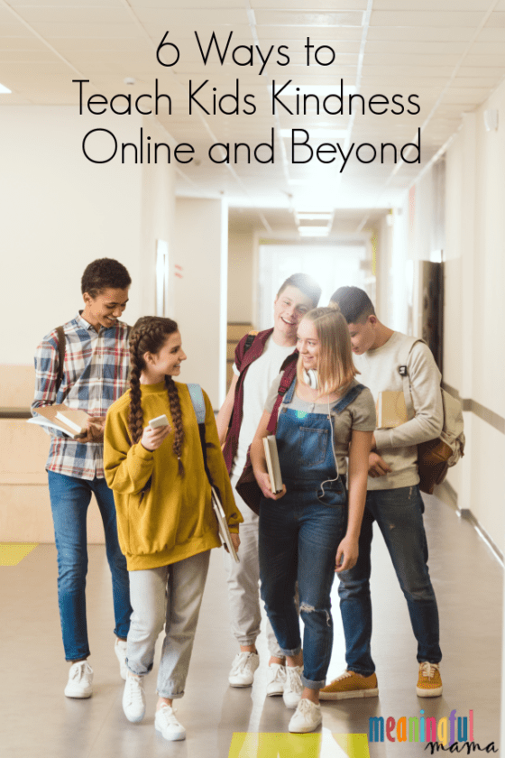 6 Ways to Teach Kids Kindness Online and Beyond #itscooltobekind