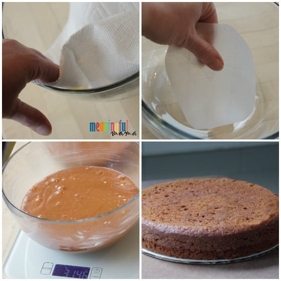 Step by Step Tutorial for Making a Sphere Cake