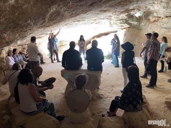 shepherd's cave in Bethlehem Israel
