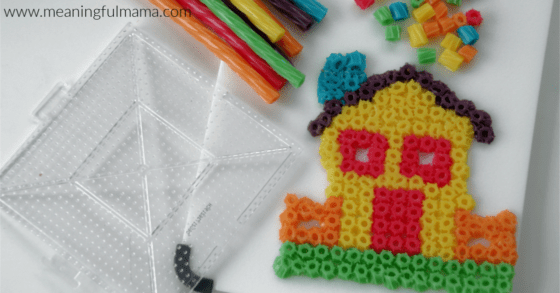 20 Unique Activities to Do While Your Family is in Quarantine - Twizzler perler beads