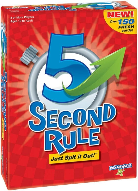 5 second rule game box